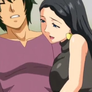 妖艶な巨乳痴女妻が主人公を言葉巧みに誘惑セックスして虜にしていく・・・ 無料エロアニメ