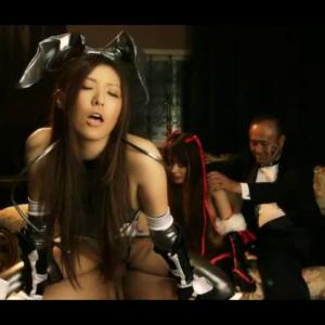 洗脳された美人対魔忍が娘の目の前で恋人を逆レイプしていく・・・ 無料エロ動画