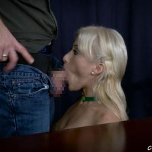 砂時計催眠をかけられた外国人ヒロインが淫らに男に奉仕していく・・・ 無料エロ動画