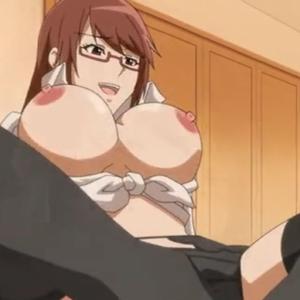 純情娘が痴女プレイで主人公のチ○ポを淫らに弄んでいく・・・ 無料エロアニメ