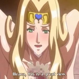 変態痴女奴隷に堕ちた王女がトロ顔になりながら奉仕していく・・・ 無料エロアニメ