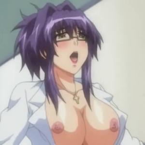 発情した爆乳痴女教師が教え子を押し倒し誘惑セックスしていく・・・ 無料エロアニメ