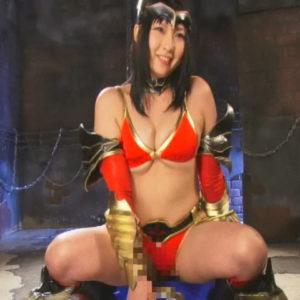 ヒーローを妖艶に誘惑し、言葉責めと性技で快楽洗脳していく女幹部・・・