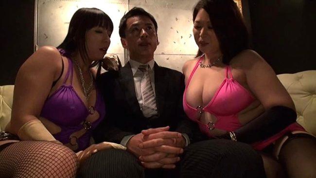 爆乳カリスマ社長と会長