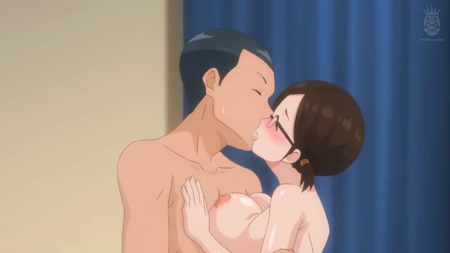 地味幼馴染 爆乳女子校生 セックス練習